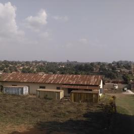 Vue sur les hauteurs de N'Zérékoré